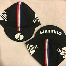 SHIMANO CLASSIC TEAM CYCLING CAP NEW BLACK, BLUE, OR WHITE ***