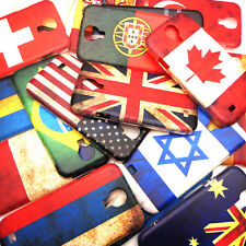 ZY Vintage Retro UVcoating National Flag Case Cover For Samsung Galaxy S4 i9500