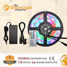 IP68 Waterproof 5M 5050 IR/RF RGB LED Submersible Aquarium Fish Tank Strip Light
