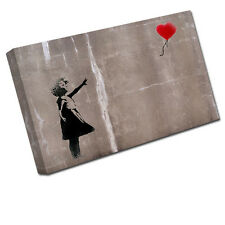 Banksy balloon girl canvas art imprimer Mur Photo BA2