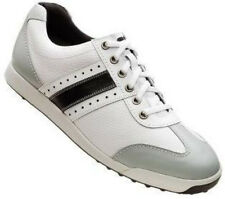2013 FootJoy Men's Contour Casual Golf Shoes White/Grey Closeout Item 54290
