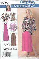 S-1622 Sewing Pattern Uncut  Misses Pants Tunic Knit Tank Dress and Top