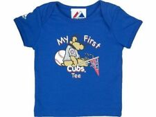 """Chicago Cubs MLB Majestic """"My First Cubs Tee"""" New With Tags"""