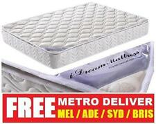 LATEX PILLOW TOP POCKET SPRING MATTRESS SINGLE KING SINGLE DOUBLE QUEEN AND KING