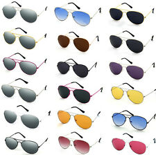 Aviator Sunglasses Fashion 80s Retro Style Designer Shades UV400 Lens Unisex
