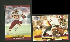 Earnest Byner Washington Redskins 1990 Pro Set 1991 Pro Set