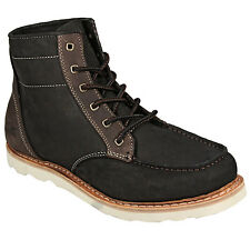 Boxfresh Mens Zelos Boots Lace-Up From Get The Label - BB1