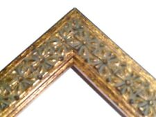 """1.25"""" Gold Cross Solid Wood Picture Frame-Custom Made Standard Sizes"""