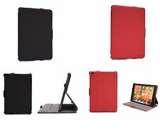 New! Superb Flip Leather Safe Case Cover w/View Multi-Stand for Apple Tablets