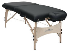 Stronglite Classic Deluxe Portable Massage Table Package w/ Curve Headrest NEW