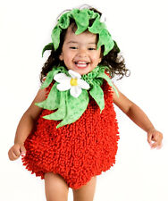Infant Baby Girls Cute Strawberry Halloween Costume