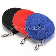 4.9-100ft Long Dog Pet Puppy Rope Training Lead Leash Recall Chain Outdoor