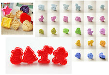 Cookie Cake Biscuit Plungers Cutter Mold Sugarcraft Baking Pastry DIY Mould Tool
