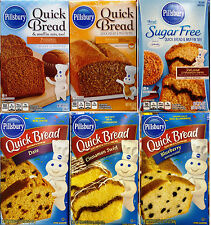 Pillsbury Quick Bread & Muffin Baking Mix ~ Pick One