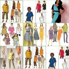 Butterick Sewing Pattern Misses Women Dresses and Tops w Plus Size Your Choice
