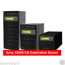 Standalone CD DVD Disc Tower Duplicator Copier Burner Writer Replicator