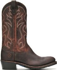 Mens Double H Distressed AG7 Work Western Leather Cowboy Boots DH3282 D EE width