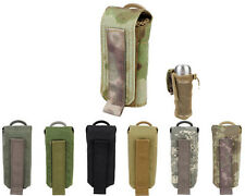 Airsoft Molle Tactical 1000D Folding Mesh Water Bottle Pouch 7 Colors BK/OD A