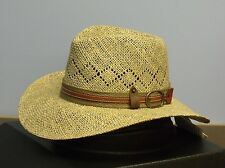 BAILEY OF HOLLYWOOD NICHOLS SEAGRASS STRAW OUTBACK HAT