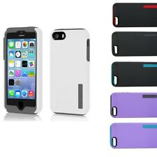 Incipio Dual PRO Hard Shell Hybrid Case Cover For New iPhone 5S 5 5G w/ Flim