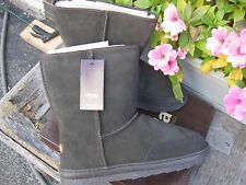 NIB NEW Ukala Emu AUSTRALIA Overland Suede Leather Boots Shoes Booties UNISEX