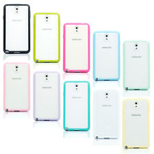 Clear Color Frame TPU Bumper Case Cover Skin For Samsung Galaxy Note 3 / Note 4