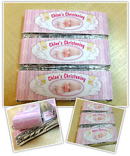 Personalised Chocolate Christening PHOTO Party Favours - Wrappers or Pre-made N8