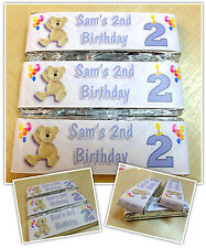 Personalised KitKat Chocolate Birthday Party Favours - Wrappers or Pre-made! N4