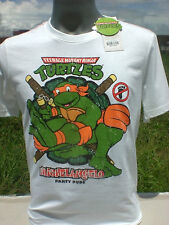 Official Vintage Style Michelangelo TMNT Teenage Mutant Ninja Turtles T Shirt