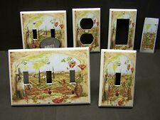 TUSCAN WINE AND GRAPE VINYARD ARCHWAY  IMAGE  LIGHT SWITCH COVER PLATE OR OUTLET