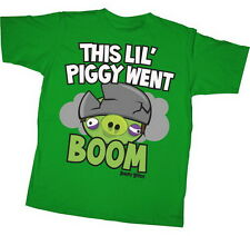Angry Birds This Lil Piggy Youth Shirt AGY024