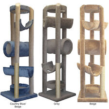Molly and Friends 86-inch Sequoia Cat Tower