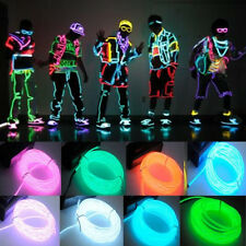 15ft Neon Light El Wire Battery Pack for Parties Halloween Christmas Decorations