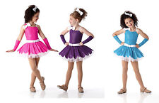 I WANT CANDY Ballet Tutu MITTS Dance Costume Pink Blue Purp GROUPS! CXS-2XL -107