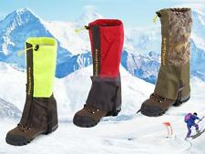1 Pair Double Layer Waterproof Hunting Walking Climbing Snow Legging Gaiters
