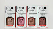 CND Shellac UV Gel - Choose Any Color from THE INTIMATES Nude Collection 2013