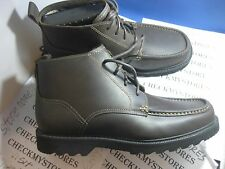 NEW   Rockport NICKMAN COCOA K73154  PREMIUM LEATHER CASUAL/DRESS BOOT