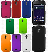 For MetroPCS Huawei Vitria Rubberized HARD Case Snap On Phone Cover Accessory