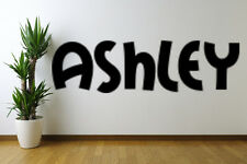Ashley text Removable Wall Art Decal