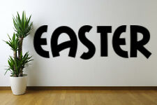 Easter text Removable Wall Art Decal