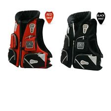 New Fly Fishing Vest Detachable Pad Safe Life Jackets Waistcoat Boating