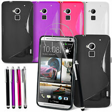 WAVE S LINE GRIP GEL CASE SILICONE CASE COVER FOR HTC ONE MAX
