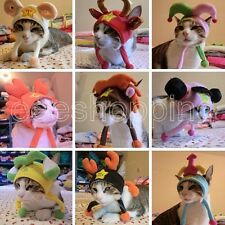 New Pet Pet Dog Cat Hat Christmas Funny Costume Party Winter keep Warm Cap Gifts
