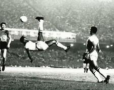 World renown soccer great Pele scoring on a bicycle kick Photo Picture 5302