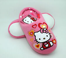 hello kitty pink slippers mules girls Size 9 - 1