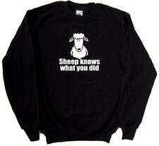Sheep Knows What You Did Funny Sweatshirt