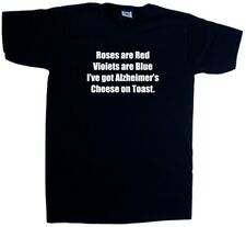 Alzheimers Cheese On Toast Funny V-Neck T-Shirt