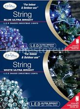 100/200 LED STRING CHASER ULTRA BRIGHT LIGHT CHRISTMAS TREE XMAS INDOOR/OUTDOOR