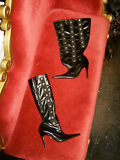 """Unique Elegant """"ADJUST-O-BOOTS"""" Made in Italy by Aldo Adjustable Calf-Width Boot"""