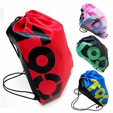 1PC GYM Swim School Dance beach water resist SPORT SHOE BAG DRAWSTRING BACKPACK
